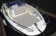 Motorboat Quicksilver 675 Open for hire