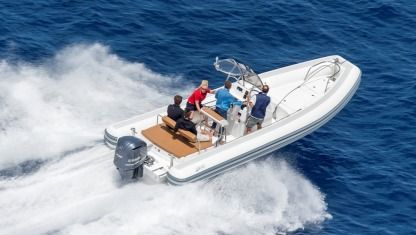 Rental RIB Sea Water Smeralda 250 Arzachena