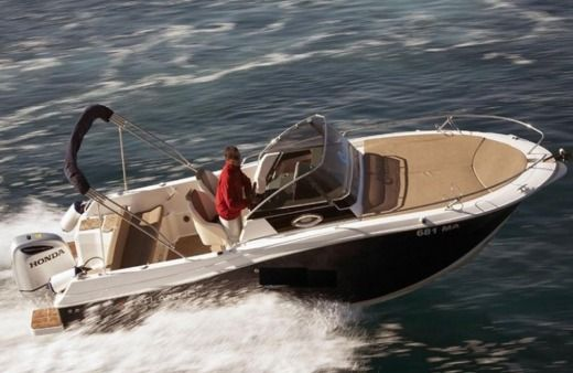 Motorboat Atlantic Marine 730 for hire