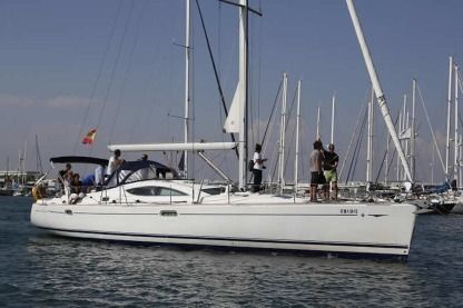 Rental Sailboat Jeanneau Sun Odyssey 49 Ds Valencia