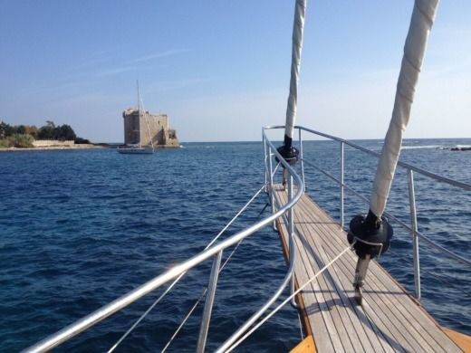 Agean Yacht Schooner in Marseille peer-to-peer
