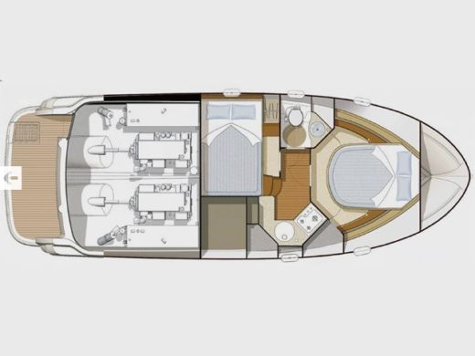 Motorboat Jeanneau Prestige 32 for hire