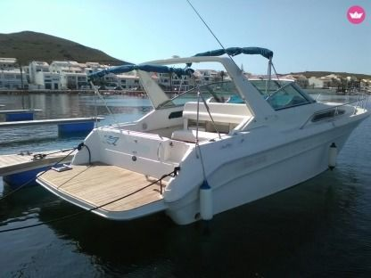 Charter Motorboat Sea Ray Sundancer 310 Fornells, Minorca