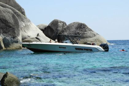 Rental Motorboat Donzi 38 Zf Open Phuket