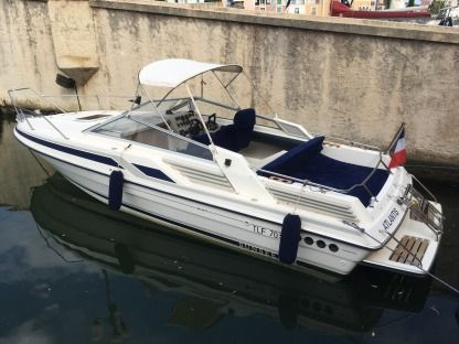 Miete Motorboot Sunseeker Mexico 24 Grimaud