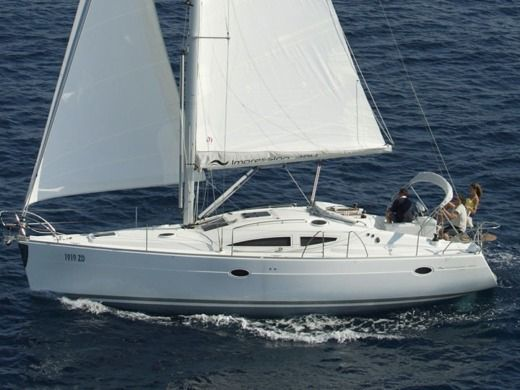 Sailboat Elan 384 Impression Lissa for hire