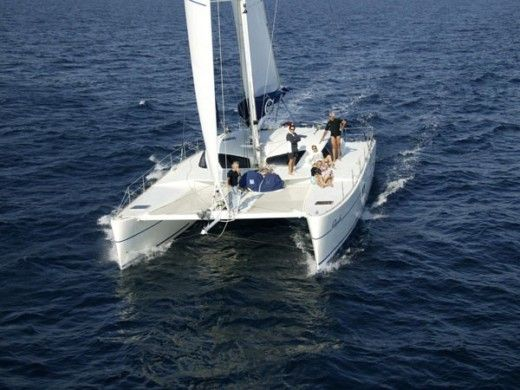 Catamaran Catelantec Absolu 50 for hire