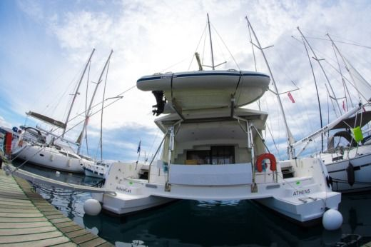 Rental catamaran in Lavrio