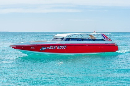 Charter Motorboat Speedboat 3 Engines (600 Hp) Jumbo Phuket