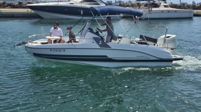 Charter Motorboat Beneteau Flyer 6.6 Space Deck Mar Menor