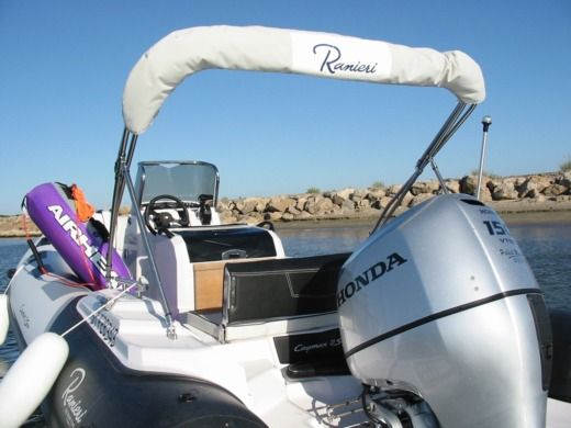 RIB RANIERI CAYMAN 21 S for hire