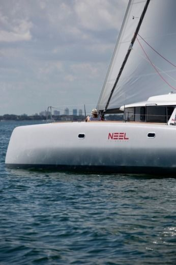 Sailboat Trimaran Neel 45 for hire