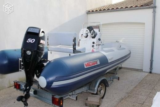 RIB Vailiant 500 Sport for hire