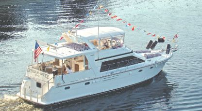 Charter Motorboat Jefferson Rivana 50 Miami