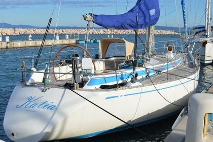 Rental Sailboat NAUTOR 39