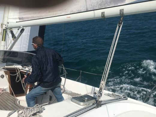 Charter Sailboat Zeta Group Queen Time 44 Cc Martigues