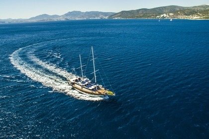 Charter Sailing yacht Custom Made Golden Glory Bodrum