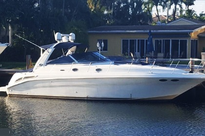 Rental Motorboat SeaRay 410 Miami