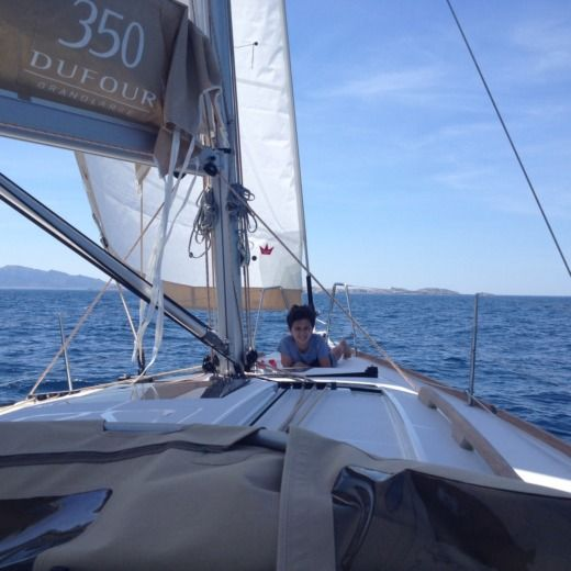 Sailboat Dufour 350 peer-to-peer