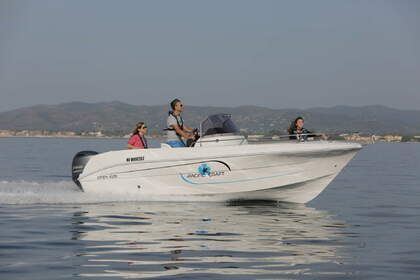 Charter Motorboat Pacific Craft Open 625 - 150cv Agde