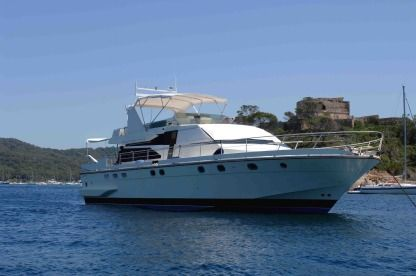 Charter Motorboat Guy Couach 1800 Ajaccio