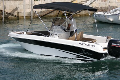Rental Motorboat Saver 580 Open Setubal