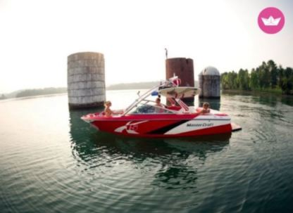 Rental Motorboat Mastercraft X-15 Trinity County