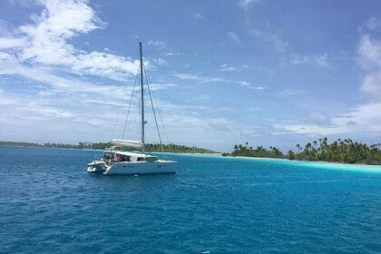 Location Catamaran Lagoon 400 S2 Tahiti