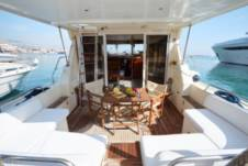 Princess 45 Flybridge in Mykonos for hire