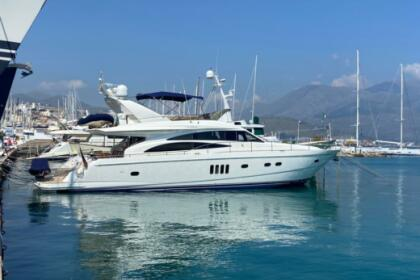 Rental Motorboat PRINCESS 67 FLY Gaeta