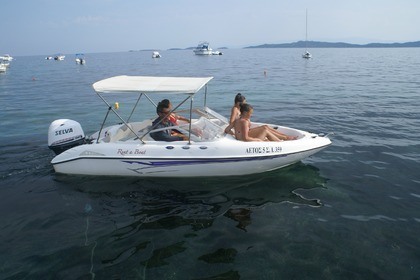 Rental Motorboat Fibrafort 487 Chalkidiki