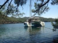 Rental catamaran in Bodrum