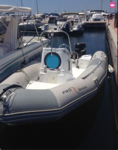 Location Semi-rigide Zodiac Open Pro 5,50 Antibes