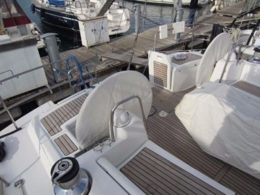 Sailboat Oceanis 54 for hire