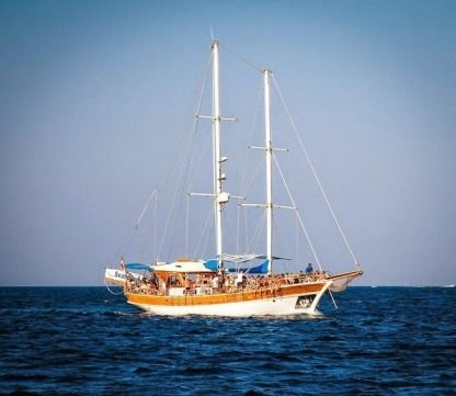 Rental Sailboat Turkish Gulet 21M Saint Julian's