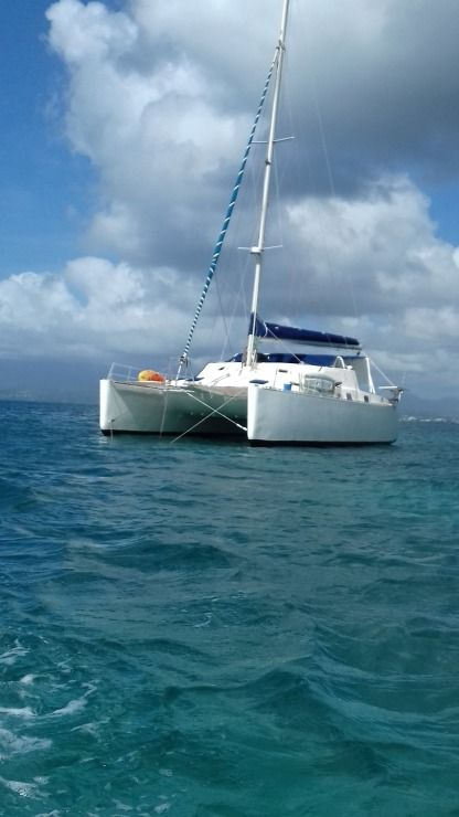 Location Catamaran Caroff Lazzi Le Gosier