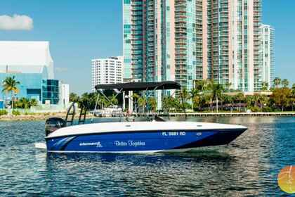 Rental Motorboat Bayliner Element XL Aventura