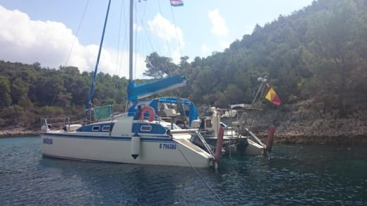 Catamaran Amateur Rafahx28 for hire