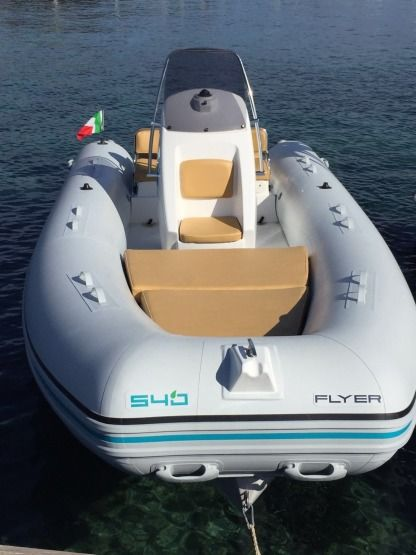 Location Semi-rigide Flayer Ecoflyer 5.40 Golfo Aranci
