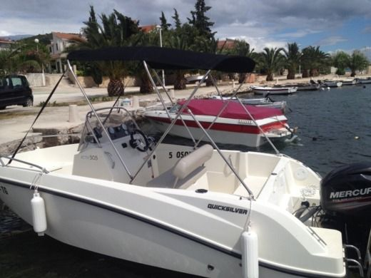 Motorboat Quicksilver 505 Activ for hire