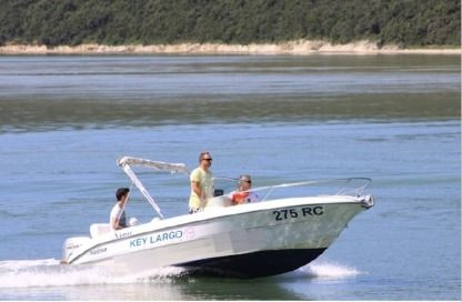 Charter Motorboat Sessa Marine Key Largo 19 Rabac