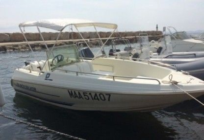 Miete Motorboot Quicksilver 550 Open Hyères