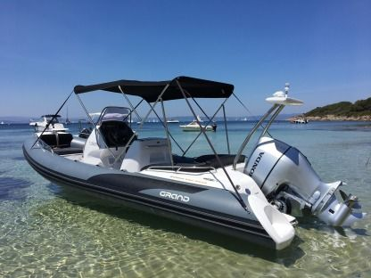 Rental RIB Grand G650 Hyères