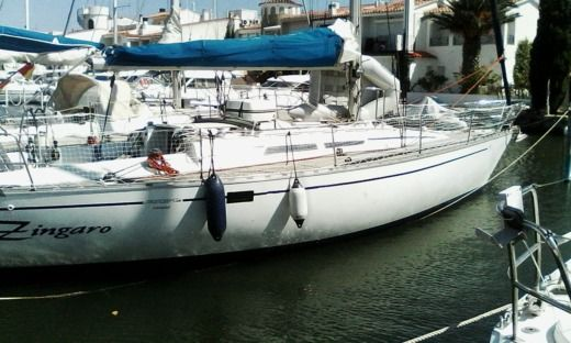 Sailboat Beneteau First 38 for hire