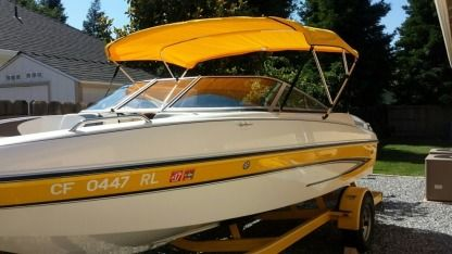 Charter Motorboat Glastron Sx195 Redding