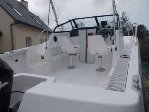 Motorboat Bayliner Trophy for hire