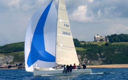 Charter Sailboat Archambault Grand Surprise Hendaye