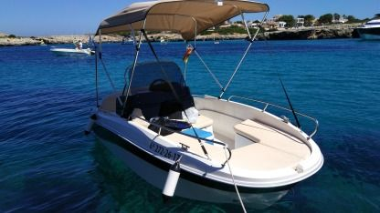 Rental Motorboat Remus 450 Open Menorca