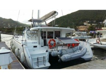 Location Catamaran Lagoon 400 S2 Tortola