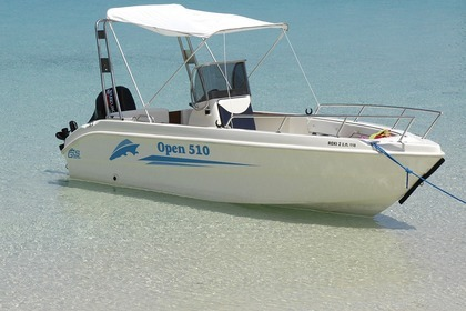 Hire Motorboat Gs Nautica 510 Open Paxi
